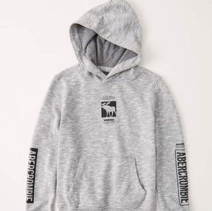 Abercrombie 15/16 logo hoodie
